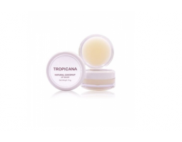 Бальзам для губ Tropicana Natural Coconut Lip Balm, 10 гр